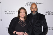NBR Freedom of Expression Award Winners, producer Jeanmarie Condon and director John Ridley pose during the National Board of Review Annual Awards Gala at Cipriani 42nd Street on January 9, 2018 in New York City.