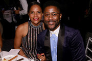 Atoya Burleson and Nate Burleson attend the National CARES Mentoring Movement 4th Annual For The Love Of Our Children Gala at The Ziegfeld Ballroom on February 11, 2019 in New York City.