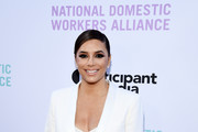 """Eva Longoria arrives at the National Domestic Workers Alliance Celebrates """"ROMA"""" event at The Jane Club on February 24, 2019 in Los Angeles, California."""