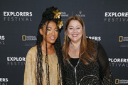 (L-R) Singer-songwriter Judith Hill and Golden Globe Award-winning actress Camryn Manheim attend the National Geographic Awards on Wednesday, June 12, 2019, at Lisner Auditorium in Washington, D.C. The award ceremony was part of the week-long National Geographic Explorers Festival.