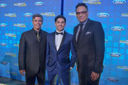 Esai Morales, Actor/Founder, Diego Tinoco, Actor and Jimmy Smits, Actor/Founder.attends the National Hispanic Foundation For The Arts 2018 Noche De Gala at the Mayflower Autograph Collection on September 11, 2018 in Washington, DC.