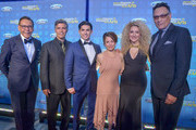 Felix Sanchez, Founder, Esai Morales, Actor/Founder, Diego Tinoco, Actor; Alanna Ubach, Actress; Erika Ender, Singer/Songwriter and Jimmy Smits, Actor/Founder attends the National Hispanic Foundation For The Arts 2018 Noche De Gala at the Mayflower Autograph Collection on September 11, 2018 in Washington, DC.