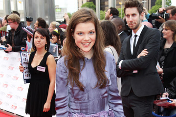 Georgie Henley National Movie Awards - Inside Arrivals