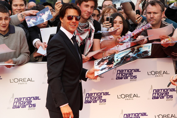 Tom Cruise Icono de la pantalla National Movie Awards