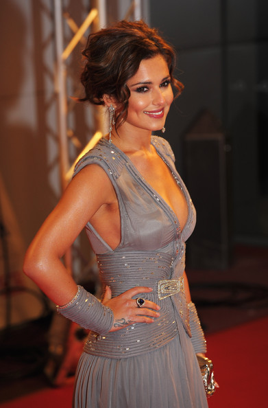 Singer and X Factor judge Cheryl Cole arrives at the National Television Awards held at O2 Arena on January 20, 2010 in London, England.