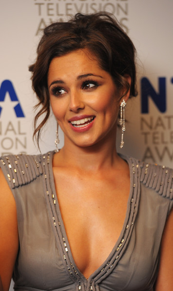 Singer and X Factor judge Cheryl Cole appears backstage at the National Television Awards held at O2 Arena on January 20, 2010 in London, England.