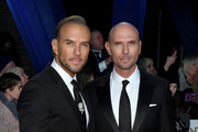 Matt Goss and Luke Goss attend the National Television Awards held at the O2 Arena on January 22, 2019 in London, England.