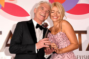 Phillip Schofield and Holly Willoughby with the Daytime award during the National Television Awards held at The O2 Arena on January 22, 2019 in London, England.