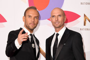 Matt Goss and Luke Goss during the National Television Awards held at The O2 Arena on January 22, 2019 in London, England.