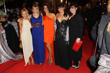 Andrea McLean Lisa Maxwell National Television Awards - Inside Arrivals