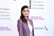 Idina Menzel attends National Women's History Museum's 7th Annual Women Making History Awards at The Beverly Hilton Hotel on September 15, 2018 in Beverly Hills, California.