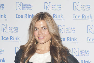 Zoe Taylor Natural History Museum Ice Rink - Launch Event