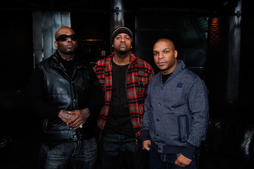 Treach DJ Kay Gee Naughty By Nature Visits fuse Studios