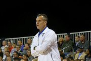 Florida Gators head coach Billy Donovan looks on during the Navy-Marine Corps Classic against the Georgetown Hoyas aboard the USS Bataan at Mayport Naval Air Station on November 9, 2012 in Jacksonville, Florida.