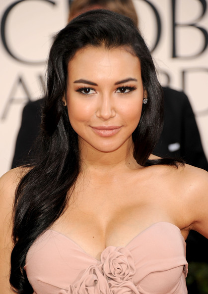 Naya Rivera Actress Naya Rivera arrives at the 68th Annual Golden Globe