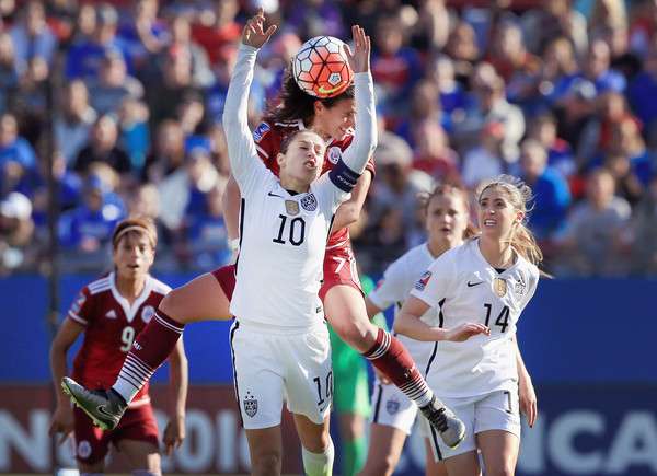United States v Mexico: Group A - 2016 CONCACAF Women's Olympic Qualifying