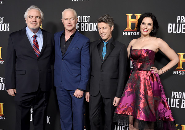 "Premiere For History Channel's ""Project Blue Book"" - Arrivals"
