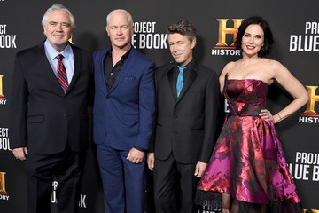"Neal McDonough Laura Mennell Premiere For History Channel's ""Project Blue Book"" - Arrivals"