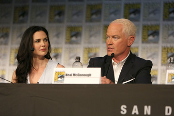 Neal McDonough Laura Mennell Project Blue Book SDCC Panel 2018