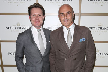 Neale Whitaker Celebs Attend Moet & Chandon Event