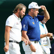 Victor Dubuisson and Lee Westwood
