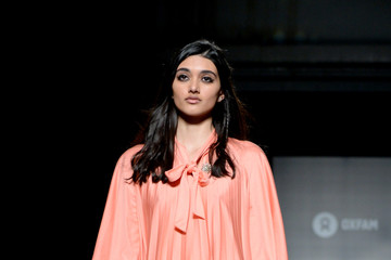 Neelam Gill Oxfam Fashion Fighting Poverty Catwalk Show