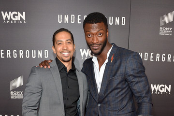 Neil Brown WGN America's 'Underground' World Premiere