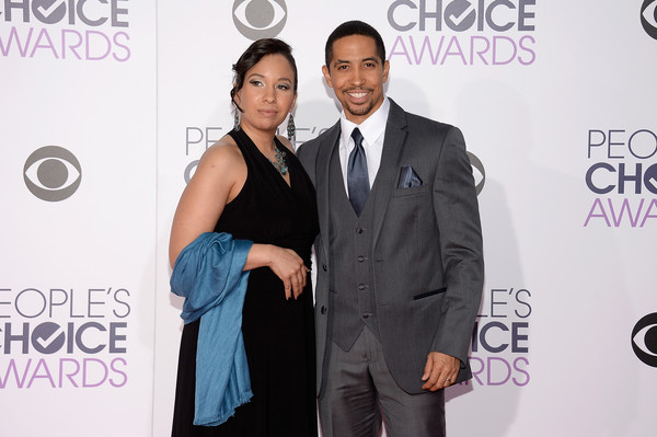 Neil Brown Jr. with friendly, Wife Catrina Robinson Brown