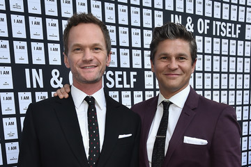 Neil Patrick Harris David Burtka 'In & of Itself' Opening Night - Arrivals