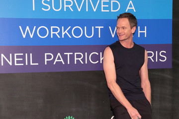 Neil Patrick Harris Neil Patrick Harris Joins Cigna in a Private Workout Session With Media And Influencers in NYC As Part of the TV Doctors of America Campaign