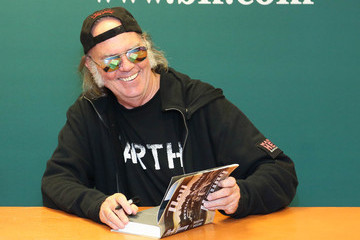 Neil Young Neil Young Signs Copies of His New Book