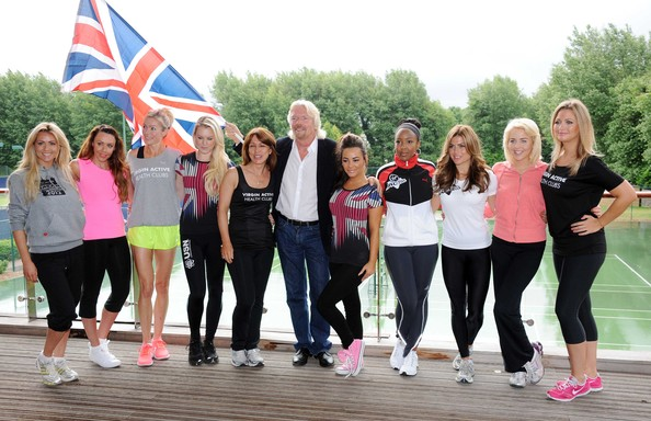 Virgin Active London Triathlon - Celebrity Photocall