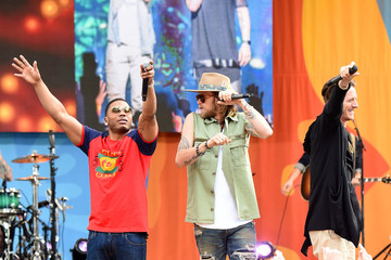"""Nelly Florida Georgia Line & Nelly Perform on ABC's """"Good Morning America"""""""