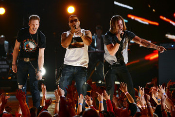 Nelly Brian Kelley Tim McGraw's Superstar Summer Night