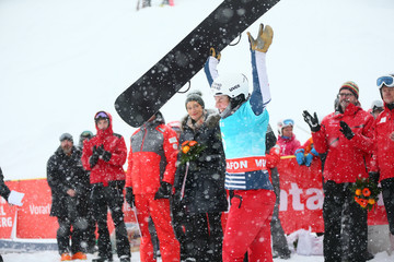 Nelly Moenne Loccoz FIS Freestyle Ski World Cup - Men's and Women's Snowboardcross