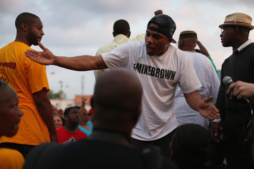 Nelly National Guard Called to Ferguson