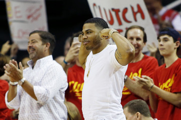 Nelly Los Angeles Clippers v Houston Rockets - Game Seven