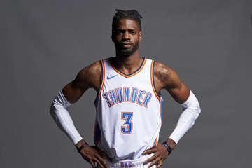 Nerlens Noel Oklahoma City Thunder Media Day