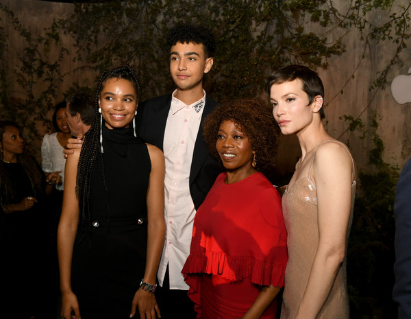 World Premiere Of Apple TV+'s 'See' - After Party [event,fashion,formal wear,fun,dress,suit,prom,smile,fashion design,tv,sylvia hoeks,alfre woodard,l-r,see,apple,party,world premiere,party,world premiere]