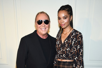 Nesta Cooper  Michael Kors Collection Spring 2020 Runway Show - Backstage