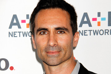 Nestor Carbonell Arrivals at the A&E Networks Upfront