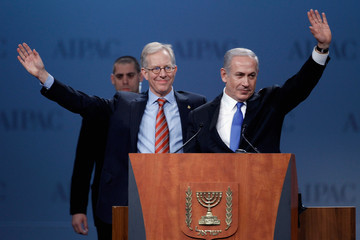 Michael Kassen Netanyahu,U.S. Congressional Leaders Address AIPAC Policy Conference