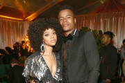 Tiffany Boone.(L) and Marque Richardson attend the Netflix 2019 Golden Globes After Party on January 6, 2019 in Los Angeles, California.