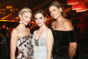 (L-R) Jamie King, Alison Brie, and Marianna Palka attend the Netflix 2019 Golden Globes After Party on January 6, 2019 in Los Angeles, California.