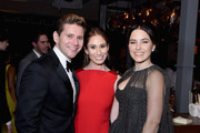 (L-R) Allen Leech, Jessica Blair Herman and Sophia Bush attend Netflix 2019 SAG Awards after party at Sunset Tower Hotel on January 27, 2019 in West Hollywood, California.
