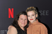 Alexa Fogel and Julia Garner attend Netflix #FYSee 'Scene Stealers' at Netflix FYSee Space on May 10, 2018 in Beverly Hills, California.