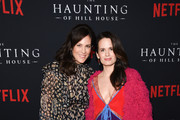 """Annabeth Gish and Elizabeth Reaser attend Netflix's """"The Haunting Of Hill House"""" Season 1 Premiere - Arrivals at ArcLight Hollywood on October 8, 2018 in Hollywood, California."""