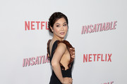 """Irene Choi attends Netflix's """"Insatiable"""" season 1 premiere at ArcLight Hollywood on August 9, 2018 in Hollywood, California."""