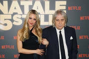 """Martina Stella and Enrico Vanzina attend the World Premiere of the Netflix Original Movie """"Natale A 5 Stelle"""" at The Space Moderno on December 4, 2018 in Rome, Italy."""