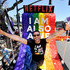 """Miguel Angel Silvestre Photos - Miguel Angel Silvestre is seen on the Netflix original series """"Sense8"""" float at the Los Angeles Pride Parade on June 10, 2018 in West Hollywood, California. - Netflix Original Series 'Sense8' Cast Attends Los Angeles Pride Parade"""